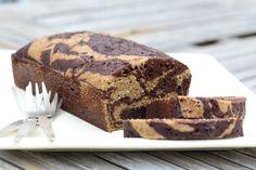 MARBRÉ AU CHOCOLAT (SANS GLUTEN, NI CASÉINE DE LAIT) Un classique réinterprété pour calmer les faims des petits et des grands au moment du goûter !