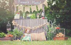 Rebecca Penny Photography, Friendswood Child Photographer- Farmer's Market Mini Sessions