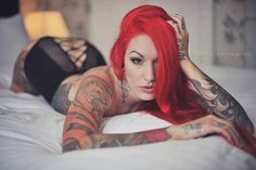 Cervena Fox's Photoshoot with Bilacous Photography