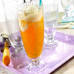 Ice Cream Soda-is a refreshing, delicious, easy, and a  quick (5) minute recipe for an anytime treat for one person or just multiply the ingredients to make more servings. This is also a healthy, low calories, low fat, low cholesterol, low sodium, low carbohydrates, heart-healthy and Weight Watchers (2) PointsPlus recipe. Makes 1 Serving.