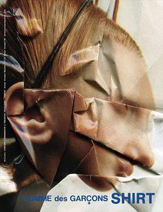 """Stephen J Shanabrook's """"Paper Surgeries"""" for Comme des Garçons"""