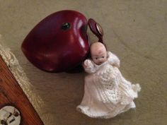 We have been unearthing objects we've inherited, found and gathered, things we've come to love and loathe. Talisman, charms, mementos, novels in themselves. This doll was given to Julia when she found herself pregnant for the first time after assuming she would never have children.