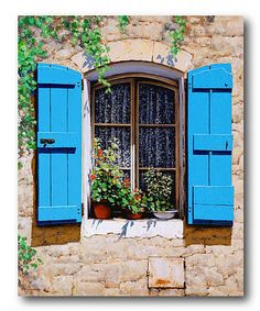 Loving this Tuscan Window Canvas Wall Art on #zulily! #zulilyfinds
