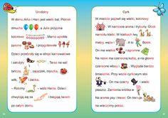 Learn Polish, Maila, Asd, Pre School, Speech Therapy, Montessori, Education, Speech Language Therapy, Studying