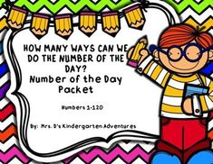 These worksheets are a great way to review numbers during your morning meetings.  Students will soon master their math skills using this Number of the day packet.Each page will have:The Number of the DayNumber Word FormPlace ValueTally MarksTen FrameNumber Line for numbers 1-20Number BondOdd or EvenTen More and Ten LessBase Ten Blocks for numbers 20-120