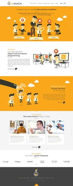 Design and illustrate the S-Mach website! by Zero.Gravity