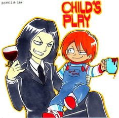 Horror Films, Horror Art, Chucky Drawing, Memes Arte, Childs Play Chucky, Happy Tree Friends, A Good Man, Kids Playing, Disney Characters