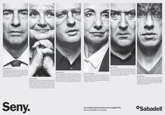 Bronce Laus 2013 | Prensa |  Título: Banc Sabadell - Seny Pàgina doble |  Autor: *S,C,P,F… |  Cliente: Banco Sabadell