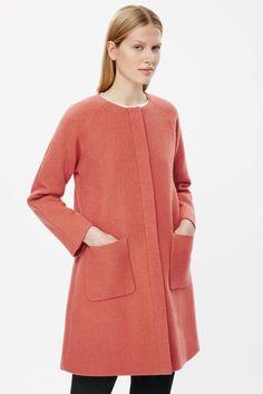 A-line wool coat COS