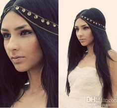 2016 New Cheap Fashion Bohemian Women Metal Head Chain Headbands Hair Jewelry Forehead Dance Headband Piece Wedding Accessories Tiara Crown Online with $8.28/Piece on Yes_mrs's Store | DHgate.com