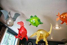 Use cardboard to decorate Dinosaur balloons! 5 MODELS TO SEE! – B … Use cardboard to decorate Dinosaur balloons! Dinosaur Birthday Party, 4th Birthday Parties, Birthday Fun, Birthday Ideas, Balloon Birthday, Dinosaur Train Party, Dinasour Birthday, Thomas Birthday, Ballon Party