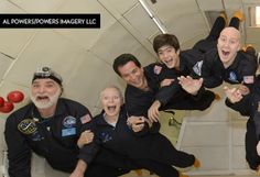 17-year-old Kacey, who has a brain tumor, wished to experience zero gravity!
