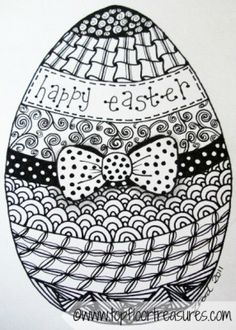1000 images about Zentangle Easter