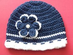 Crochet Baby Hat Newborn Crochet Hat Baby by crochethatsbyjoyce, 14.00