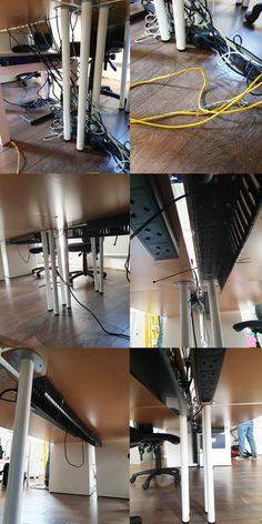 Image Sequence, Desk Tidy, Cable Management, Organized Desk, Cord Management, Clean Desk