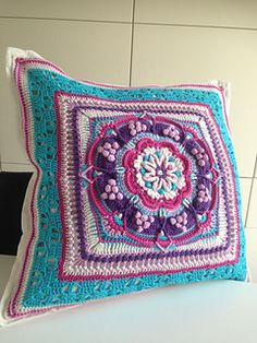 Ravelry: CindyvdSchee's Pondoland Square meets Charlotte - Spring Blossom
