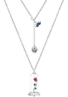 Disney Couture - Enchanted Rose - Collana by La Bella e la Bestia