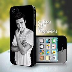 Josh Hutcherson for iPhone 4 or 4s case
