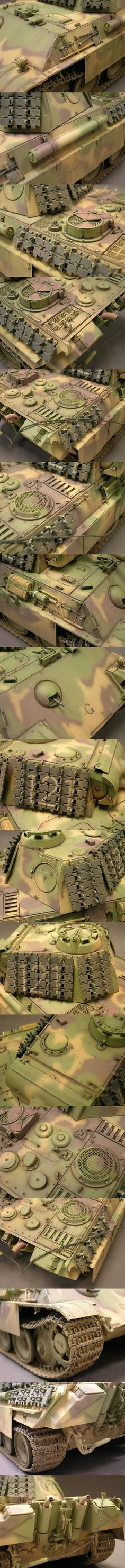 Sd.Kfz. 171. Panzerkampfwagen V Panther G 1/35 Scale Model