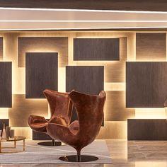 Feature Wall Design, Wall Panel Design, Wall Decor Design, Ceiling Design, Office Interior Design, Interior Walls, Interior Decorating, Lobby Design, Home Room Design