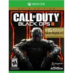 Call of Duty Black Ops 3 Gold Edition w/ DLC (Xbox One) New #ActivisionBlizzardInc