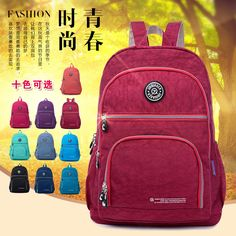 19.95$  Buy here - http://vioct.justgood.pw/vig/item.php?t=ez3rlr33937 - Tactical Backpack Women Nylon Waterproof Children Backpacks Kip Style School Bag 19.95$