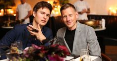 Jo Malone London Toasts Paul Andrew's Men's Line and a Surprise Sneaker Collaboration With Ansel Elgort