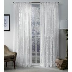 Ophelia & Co. Aldora Gray Area Rug & Reviews | Wayfair Window Sheers, Drapes Curtains, Curtain Panels, Grey And White Rug, White Area Rug, Gray, Farmhouse Area Rugs, Custom Drapes, Rod Pocket Curtains