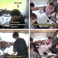 [BTS Bon Voyage] This is so precious.