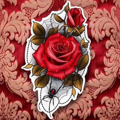 Новости neotrad traditional rose tattoos, flower tattoos и t Sketch Tattoo Design, Tattoo Sketches, Tattoo Drawings, Neo Traditional Roses, Traditional Rose Tattoos, Flower Tattoo Designs, Flower Tattoos, Small Tattoos, Dessin Old School