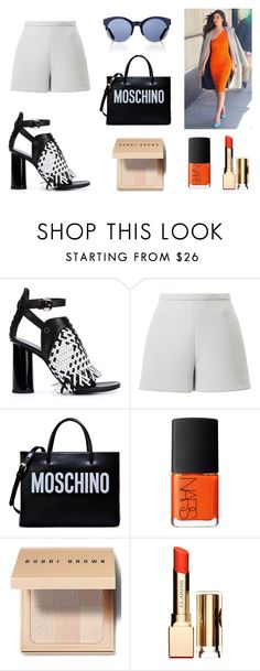 """[BASIC AND ORANGE] 2016 BRYAN YANG'S PERFECT MATCHING 214"" by bryan-yang ❤ liked on Polyvore featuring Proenza Schouler, Delpozo, Moschino, NARS Cosmetics, Bobbi Brown Cosmetics, Clarins and Christian Dior"