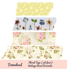 Digital Floral Tape - Free download