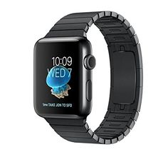 Apple Watch SERIES 2 Stainless steel 42mm (Space Black Stainless Steel Case with Space Black Link Bracelet) >>> You can get more details by clicking on the image.