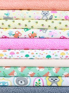 Timeless Treasures, Happy Campers in FAT QUARTERS 10 Total Fabulous Fabrics, Happy Campers, Fat Quarters, Martha Stewart, Textile Design, Hobbies, Quilting, Cotton Fabric, Crafting