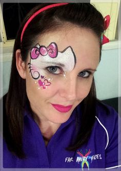 Simple face painting designs are not hard. Many people think that in order to have a great face painting creation, they have to use complex designs, rather then Easy Face Painting Designs, Face Painting Images, Animal Face Paintings, Face Painting For Boys, Face Painting Tutorials, Painting Patterns, Monkey Face Paint, Mime Face Paint, Balloon Painting