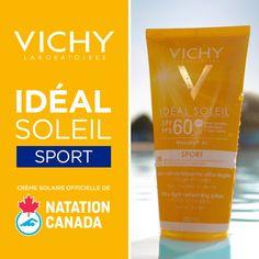 L'écran solaire idéal pour les gens au mode de vie actif.☀️ Formule résistante à l'eau & transpiration durant 80 minutes + s'applique sur la peau humide ou sèche.💦