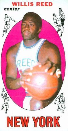 1969 70 Topps Willis Reed RC