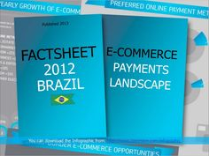 Cross-Border eCommerce Brazil Infographic. The facts and figures in this Infographic reflect an emerging ecommerce market, in a country inhabited by almost 200 million people, of which 33 million online shoppers actively surf the internet for special offers.   The Infographic contains information on general fact & figures, Preferred payment methods, Major ecommerce categories, online retail, online travel, Cross-border ecommerce opportunities, Brazilian acquiring institutions.