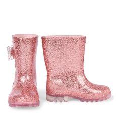 Toddler Girls Glitter Light-Up Rainboot Toddler Girl Style, Toddler Girl Shoes, Baby Girl Shoes, Toddler Girl Outfits, Kid Shoes, Girls Shoes, Kids Outfits, Toddler Hair, Baby Boots