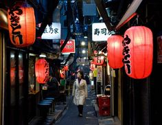 Yokocho's alleyway of izakayas are a feast for the eyes, nose and stomach.