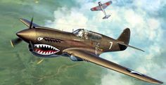 High resolution Curtiss P40 Warhawk 'Flying Tiger' desktop/laptop wallpaper. Listed in tiger category.