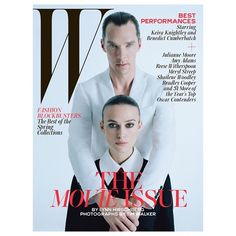 «Kiera & Benedict  by #timwalker for @wmag hair by @duffy_duffy ✂️ make up by @lisabutlermakeup  set by @mofbf  #bestperformances»