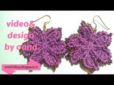 hi crocheters of the world, my name is oana and I love to crochet and knit I also have my own designs and projects and this is the place where I share my cre. Crochet Jewelry Patterns, Crochet Earrings Pattern, Crochet Bikini Pattern, Crochet Accessories, Crochet Necklace, Yarn Over, Crochet Fashion, Diy Crochet, Beaded Flowers