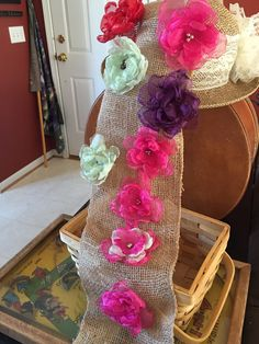 Flower Clips by VintageFamilyGoods on Etsy https://www.etsy.com/listing/448947158/flower-clips