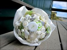 I do button bouquet
