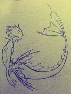 Pencil Drawing - Other Pencil Drawing Fixing Leading .- Bleistiftzeichnung – Andere Pencil drawing – Other Mermaid Drawings, Mermaid Art, Mermaid Sketch, Drawings Of Mermaids, Mermaid Drawing Tutorial, Manga Mermaid, Art Drawings Sketches, Cute Drawings, Fantasy Drawings