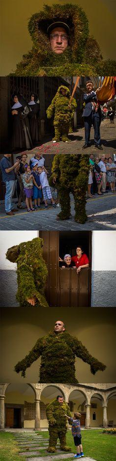 Meet Spain's moss men. AP