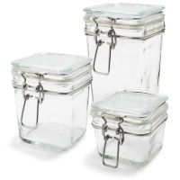 Bormioli Rocco Fido Canning Jars - square and round