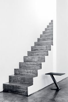 Simple stairs with contrast.