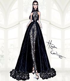 Hayden Williams Haute Couture SS15: Look 5 Be Inspirational ❥ Mz. Manerz: Being well dressed is a beautiful form of confidence, happiness & politeness